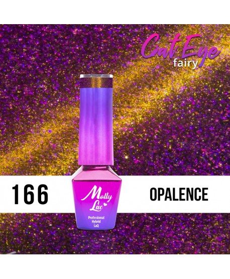 166. MOLLY LAC gel lak - Cat Eye Fairy opál 5ml