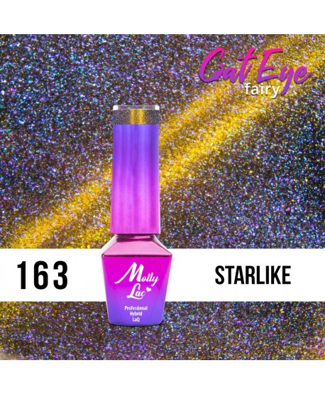 163. MOLLY LAC gel lak - Cat Eye Fairy Starlike 5ml