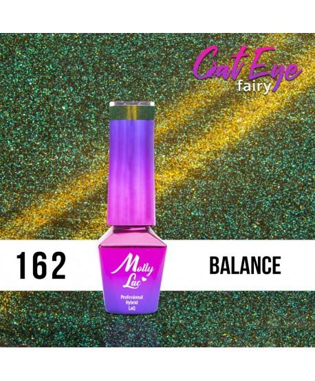 162. MOLLY LAC gel lak - Cat Eye Fairy Balance 5ml