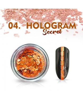 Hologram Secret 04 - měděné