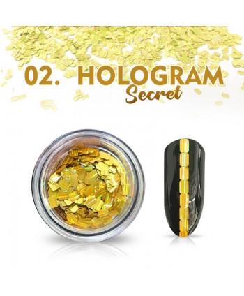 Hologram Secret 02 - zlaté
