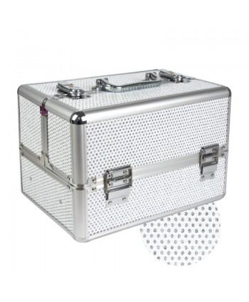 Kosmetický kufřík malý bílý...