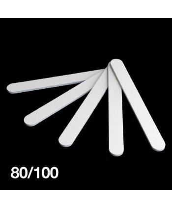 Pilník bílý rovný 80/100
