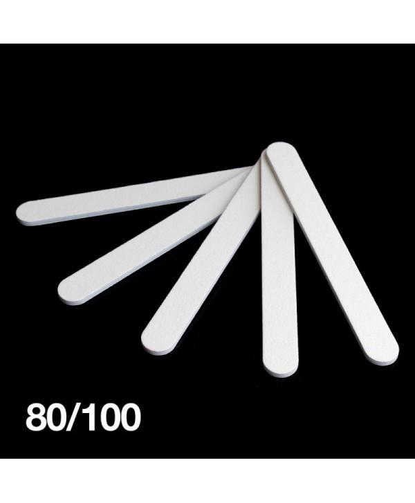Levně Pilník bílý rovný 80/100