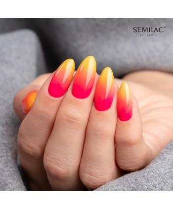 Semilac stylizace - Neonové...