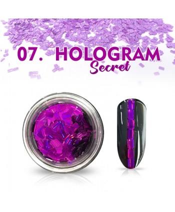 Hologram Secret 07 - fialové