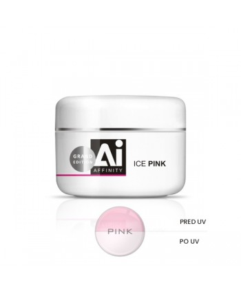 Uv gel AFFINITY ICE PINK 100 g