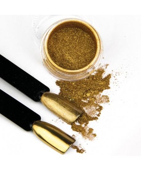 Pigmentový prášek Glass Golden