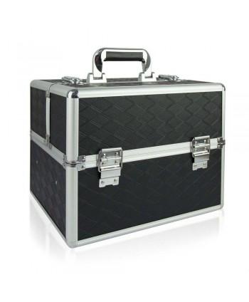 Kosmetický kufřík N04 - černý