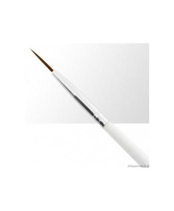 Štětec na zdobení 0 bílý 10 mm