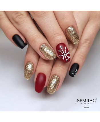 Semilac vánoční stylizace 01