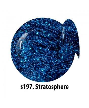 Glitrový UV gel NTN S197...