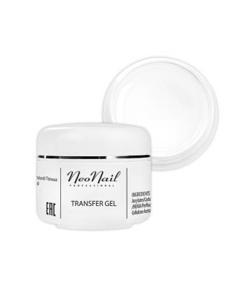 Neonail transfer gel - bílý...