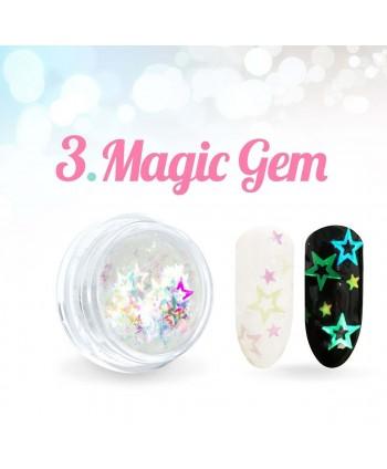 Ozdobné hvězdičky Magic Gem...