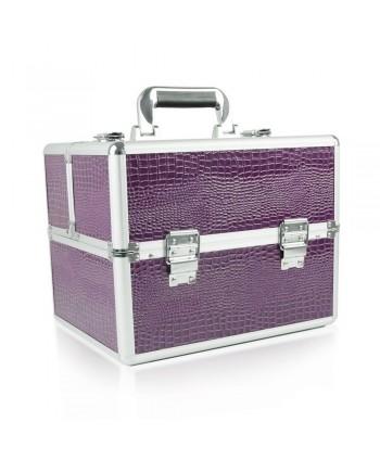 Kosmetický kufřík - fialový...