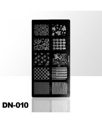 Destička na razítkování DN010