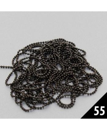 Retiazka na zdobenie 55 čierna