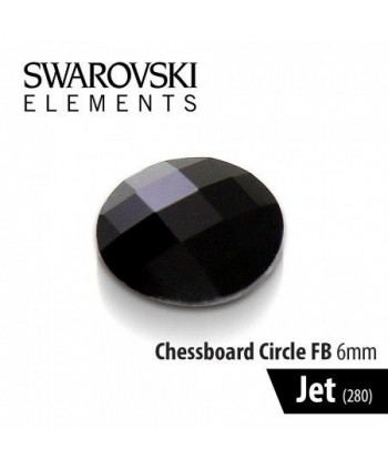 Swarovski kamínek Jet černý...