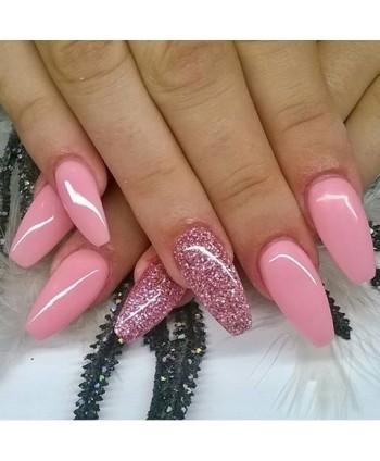 Stylizace nehtů růžová -...