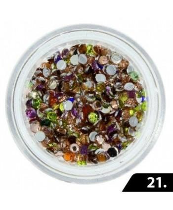 Zirkonové kamínky 2 mm - 21