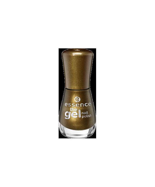Essence lak na nechty gel nail 106 Zlatá