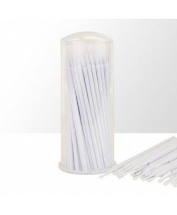 Mikro kartáčky na řasy bílé...