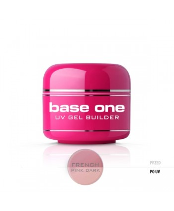 Base one UV gel French Dark...