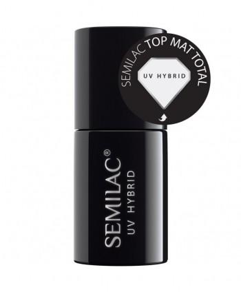 Semilac - Total mat top...