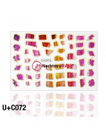 3D nálepky C072