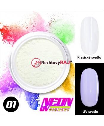 01. Neonový UV pigment