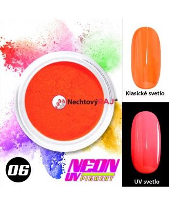 06. Neonový UV pigment