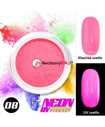 08. Neonový UV pigment