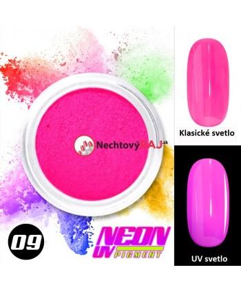 09. Neonový UV pigment