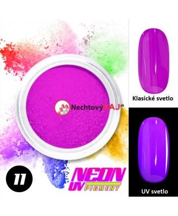 11. Neonový UV pigment