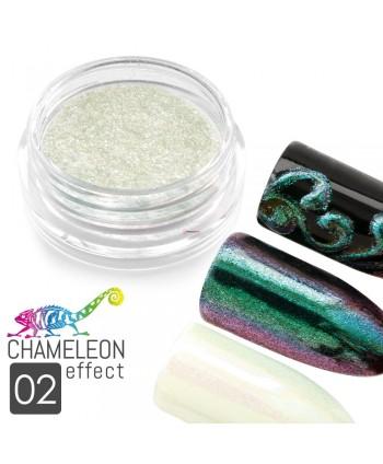 Prášek chameleon efekt 02