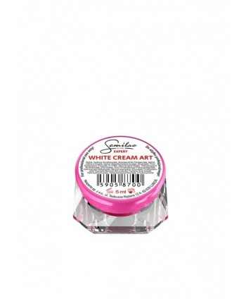 Semilac expert uv gel white...