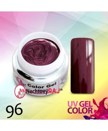 Barevný uv gel perleťový 96...