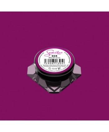 Barevný uv gel Semilac 034