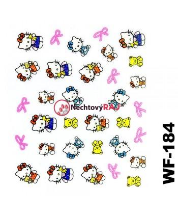 3D nálepky Hello Kitty 184