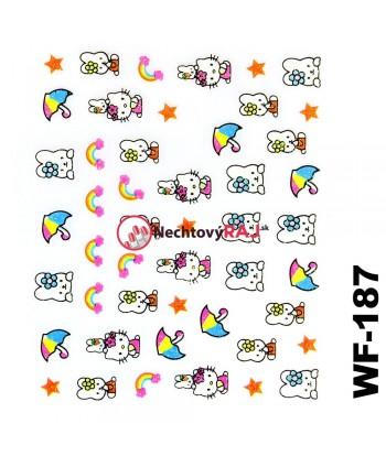 3D nálepky Hello Kitty 187