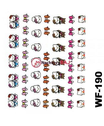 3D nálepky Hello Kitty 190