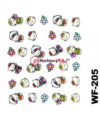 3D nálepky Hello Kitty 205