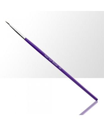 Štětec na zdobení fialový 8 mm