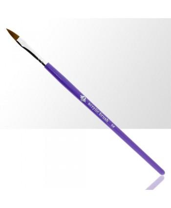 Štětec na akryl č. 6 - fialový