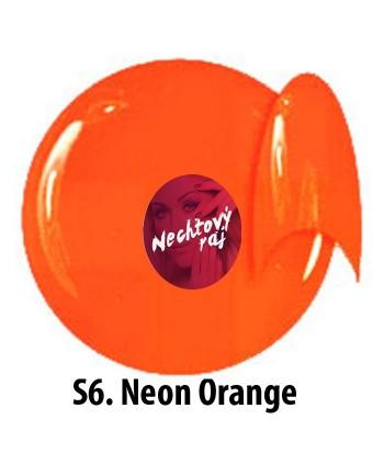 Barevný neonový uv gel NTN...