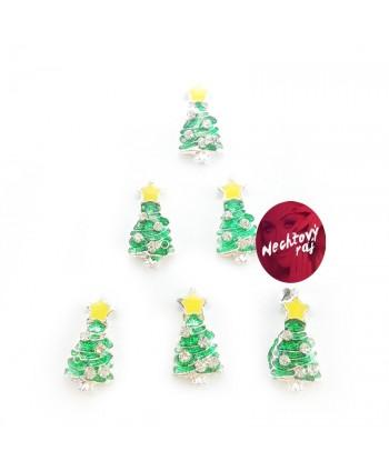 3D stromčeky  6 ks žltá...