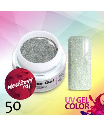 Glitrový uv gel 50 5g