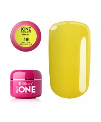 Perleťový uv gel 16 Yellow...