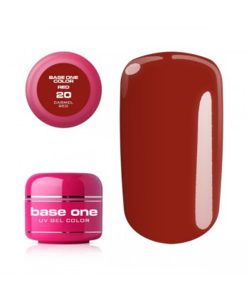 Base one red gél- Carmel...