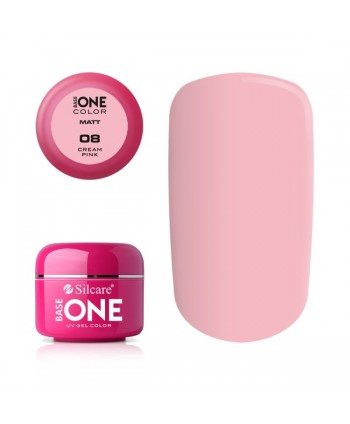 Matný uv gel 8 - Cream pink 5g